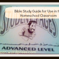 Bringing Homeschool Focus to Bible Study
