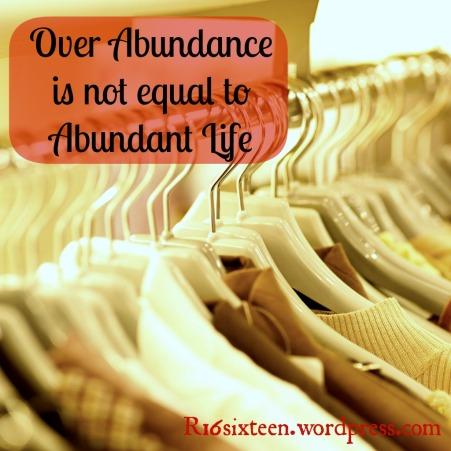 Over Abundance